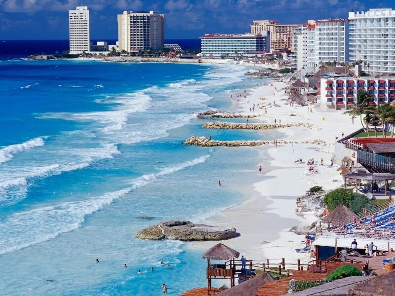 Découvrez Cancun au Mexique et ses plages les plus populaires au monde