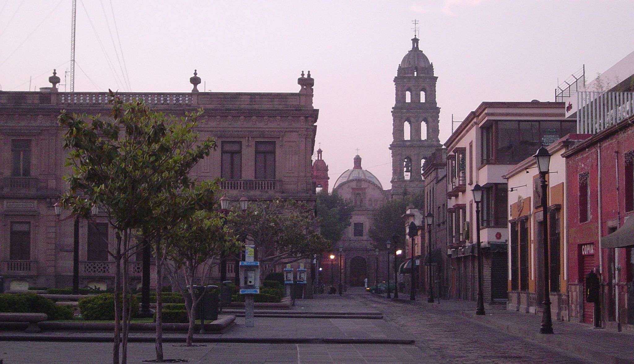 Découvrez la ville de San Luis Potosi située dans le centre du Mexique