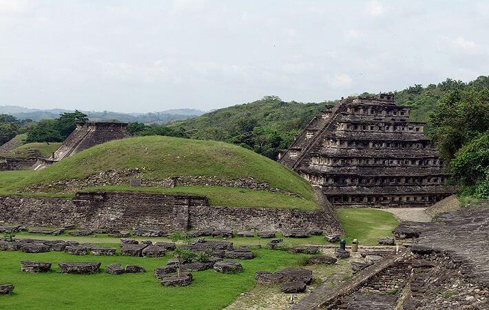El Tajín, site archéologique dans l'état de Veracruz près de la ville de Papantla